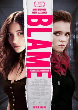 Filmplakat von Blame - Verbotenes Verlangen