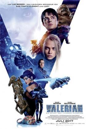Dinner & Movie: Valerian - Die Stadt der Tausend Planeten 3D