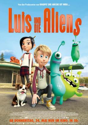 Luis und die Aliens 3D (luxemburgische Version)
