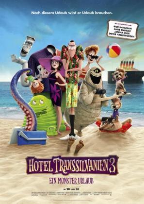 Filmbeschreibung zu 25. Dresdner Kinderfilmfest KinoLino: Hotel Transsilvanien 3 - Ein Monster Urlaub
