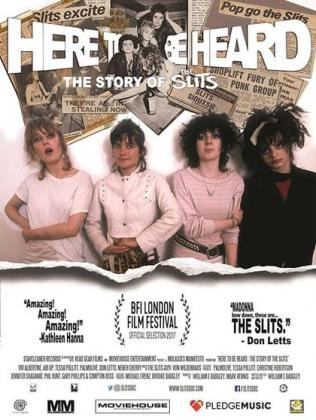 Filmplakat von Here to Be Heard - The Story of the Slits