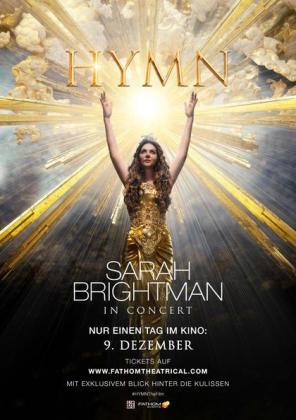 Filmplakat von Hymn: Sarah Brightman in Concert (OV)