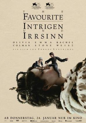The Favourite - Intrigen und Irrsinn (OV)