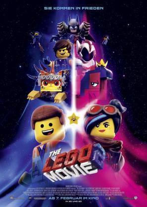 Filmplakat von The Lego Movie 2 3D (OV)