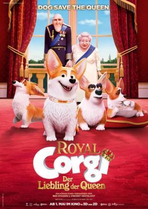 Filmbeschreibung zu Royal Corgi - Der Liebling der Queen 3D