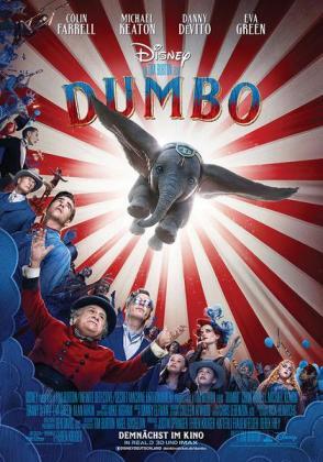 Filmplakat von Dumbo 3D (OV)