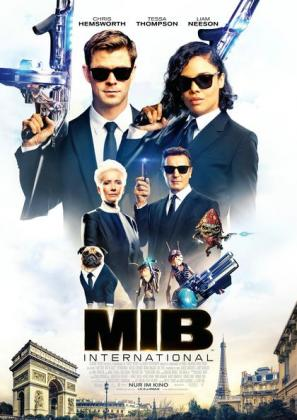 Filmplakat von Men in Black: International 3D