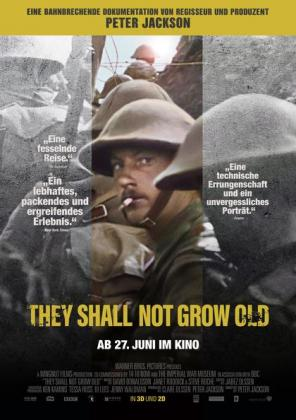 They shall not grow old 3D (OV)