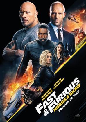 Fast & Furious: Hobbs & Shaw 3D