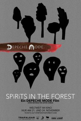 Filmplakat von Depeche Mode: SPIRITS in the Forest (OV)