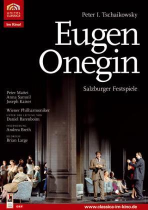 Filmplakat von Wachtangow-Theaters: Eugen Onegin (OV)