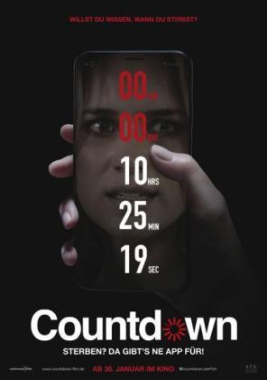 Filmplakat von Countdown
