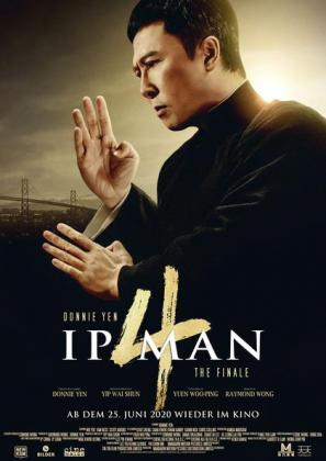 Filmplakat von Ip Man 4: The Finale
