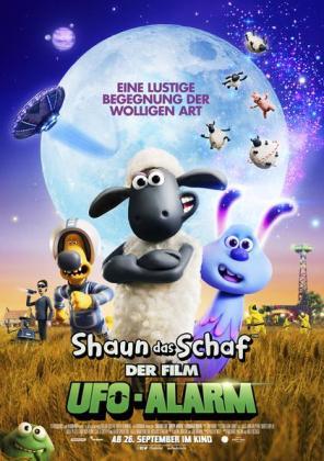 Shaun das Schaf: UFO-Alarm (Tickets nur unter www.autokino-freiburg.com)