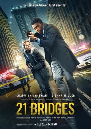 21 Bridges (Tickets nur unter www.autokino-freiburg.com)