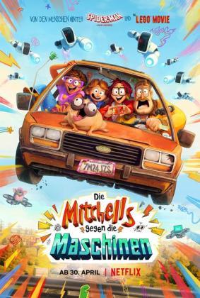 Filmbeschreibung zu Die Mitchells gegen die Maschinen