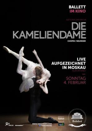 Filmplakat von Bolshoi-Theater Moskau: Die Kameliendame (OV)