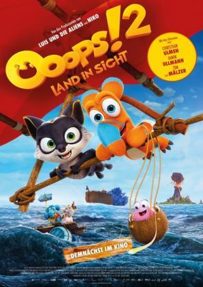 Filmbeschreibung zu Ooops! 2 - Land in Sicht (luxemburgische Version)