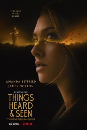 Filmplakat von Things Heard & Seen