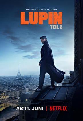 Filmplakat von Lupin - Staffel 2