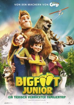 Filmbeschreibung zu Bigfoot Junior - Ein tierisch verrückter Familientrip (OV)