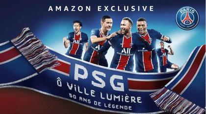 Filmplakat von PSG Ô Ville Lumière, 50 Ans De Légende