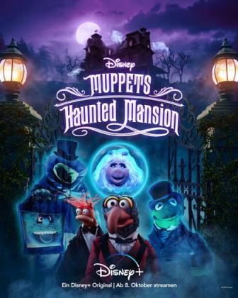 Filmplakat von Muppets Haunted Mansion