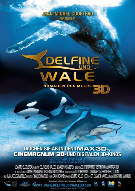 Filmbeschreibung zu Delfine und Wale 3D