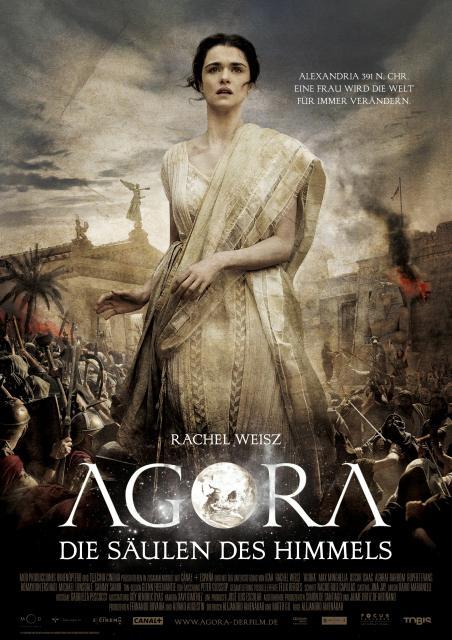 Filmbeschreibung zu Agora - Die Säulen des Himmels