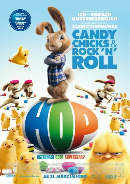 Filmbeschreibung zu Hop - Osterhase oder Superstar?