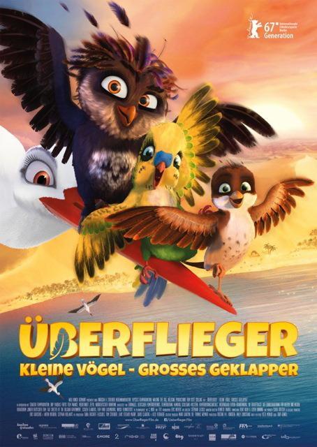 Platz 10 -  Überflieger: Kleine Vögel - großes Geklapper