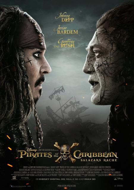 Platz 4 -  Pirates of the Caribbean: Salazars Rache