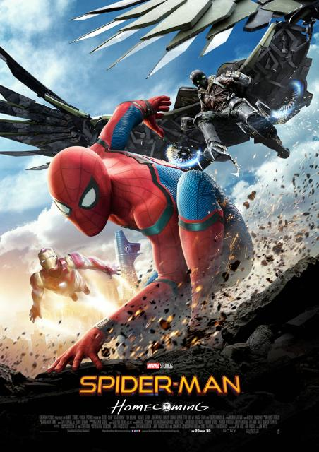 Platz 8 -  Spider-Man: Homecoming