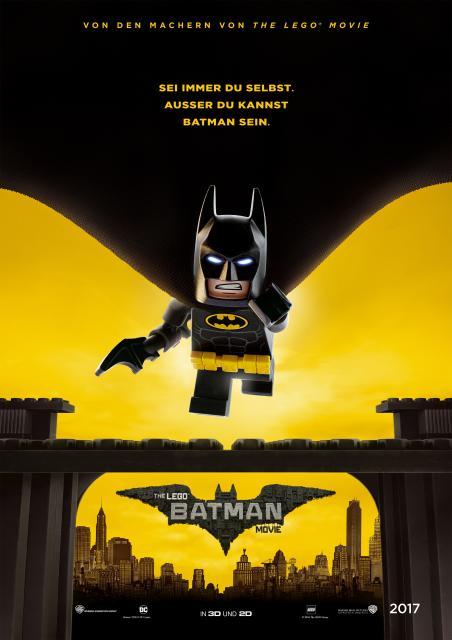 Platz 4 -  The Lego Batman Movie