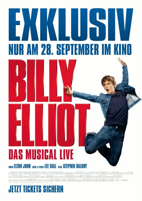 Filmbeschreibung zu Billy Elliot - Das Musical Live