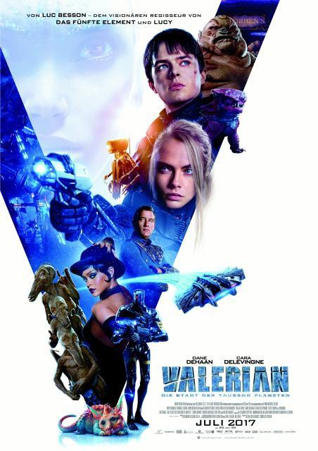 Platz 4 -  Valerian - Die Stadt der tausend Planeten