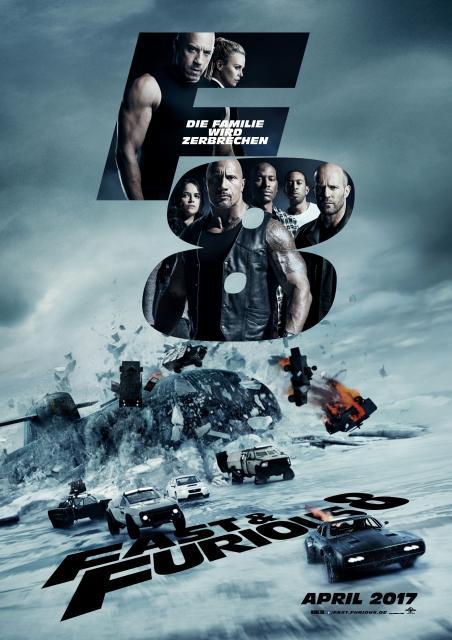 Platz 5 -  Fast & Furious 8