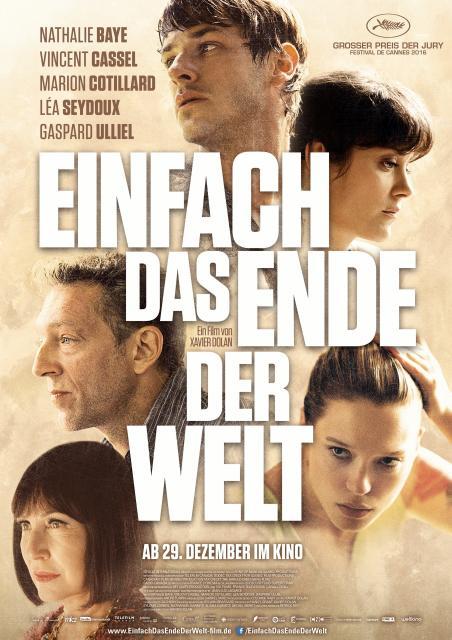 Filmbeschreibung zu Einfach das Ende der Welt
