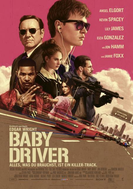 Platz 10 -  Baby Driver