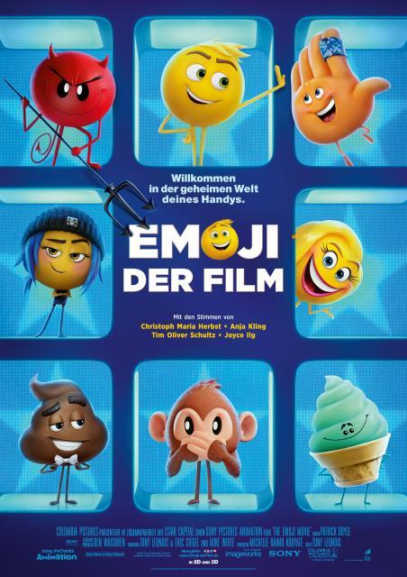 Platz 5 -  Emoji - Der Film
