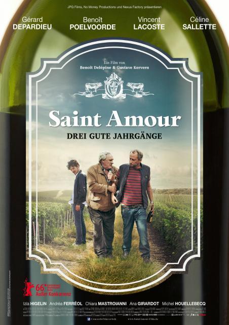 Filmbeschreibung zu Saint Amour - Drei gute Jahrgänge