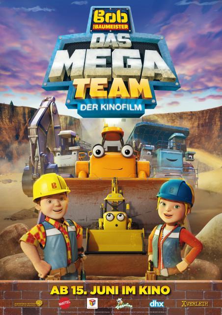 Platz 10 -  Bob, der Baumeister: Das Mega Team - Der Kinofilm