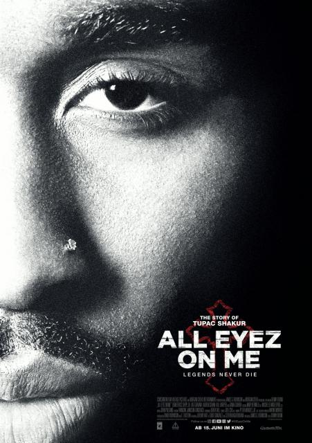Platz 6 -  All Eyez on Me